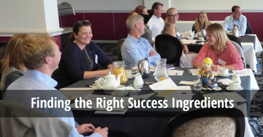 Finding the Right Success Ingredients