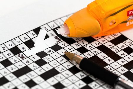 business learnign from cryptic crosswords