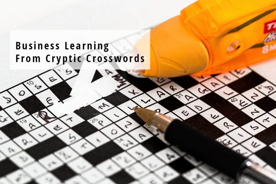 Business Learning from Cryptic Crosswords